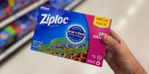 Ziploc Snack Bags 280-Count Only $5.78 Shipped on Amazon (Regularly $9)