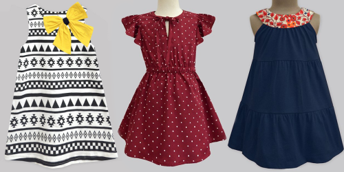 Girl's Sun Dresses from $8.49 w/ Exclusive Discount on Zulily
