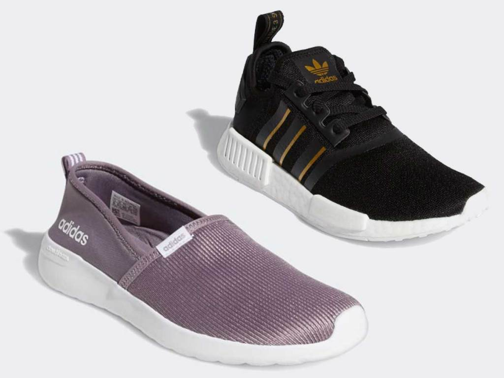 adidas women's shoes stock images