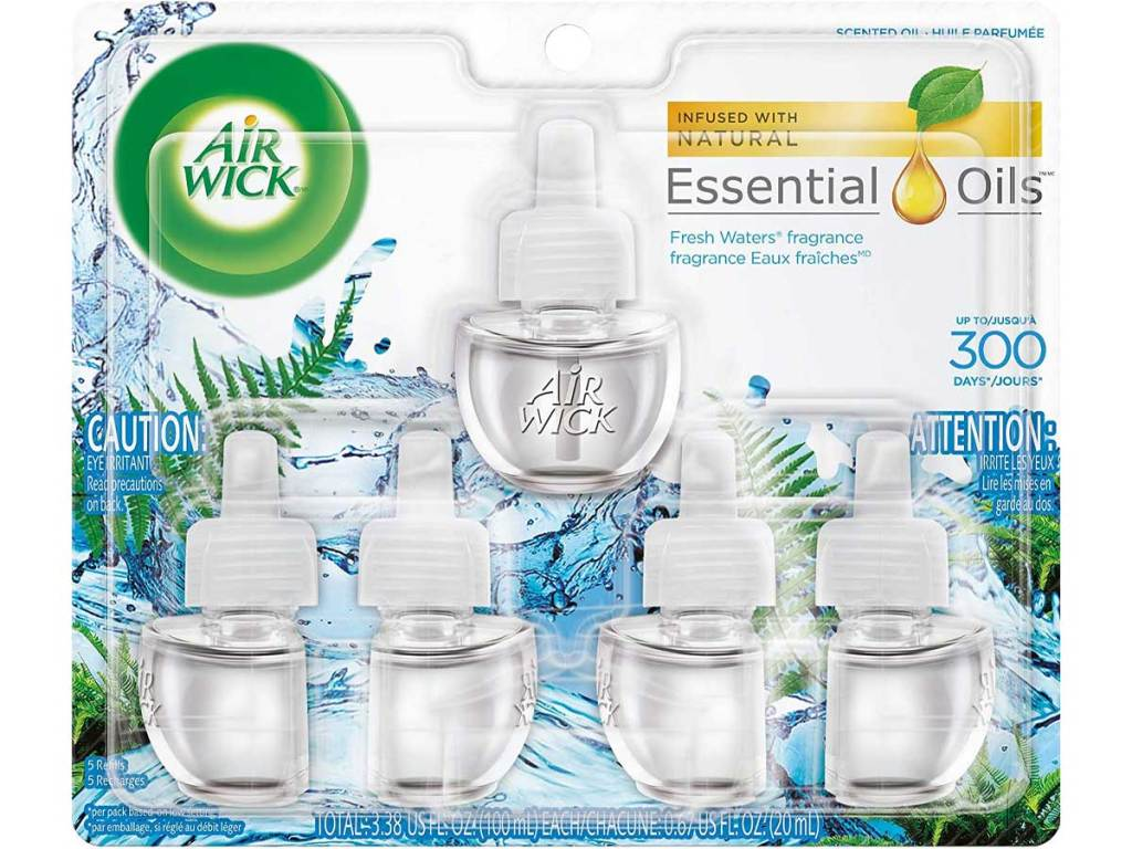 stock image of an air fragrance refill kit