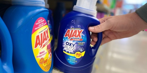Ajax Liquid Laundry Detergent 40oz Only 99¢ at Walgreens