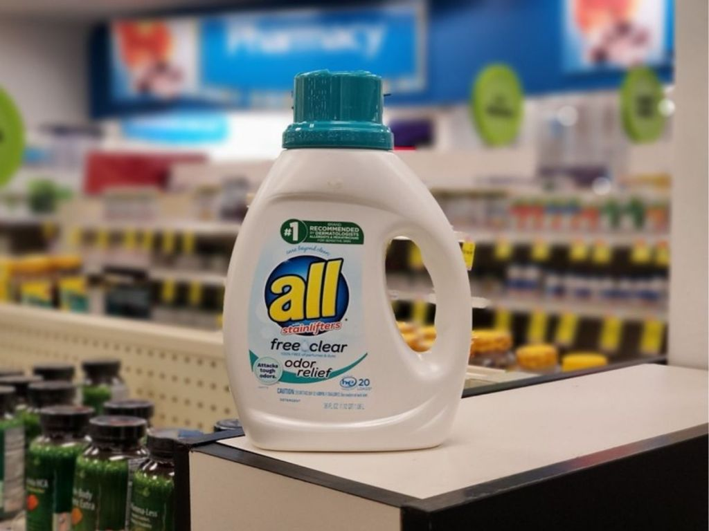 all laundry detergent free and clear