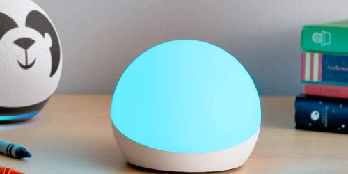 Echo Glow Smart Lamp Only $19.99 on Amazon (Regularly $30) | Fun Light Alarm & Timer for Kids
