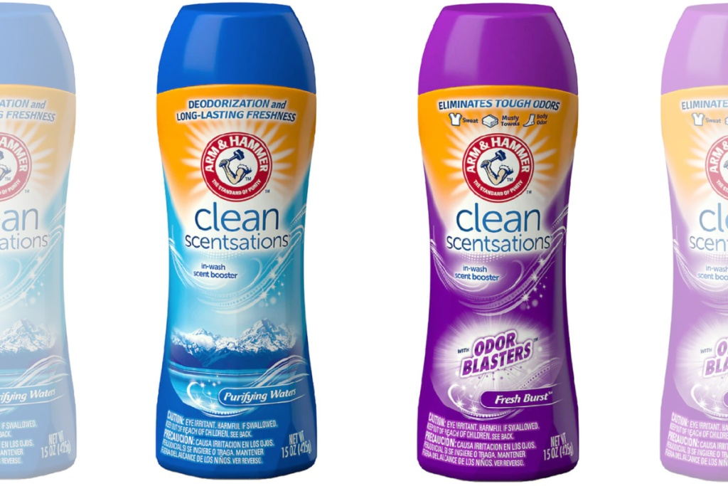 arm and hammer scent boosters