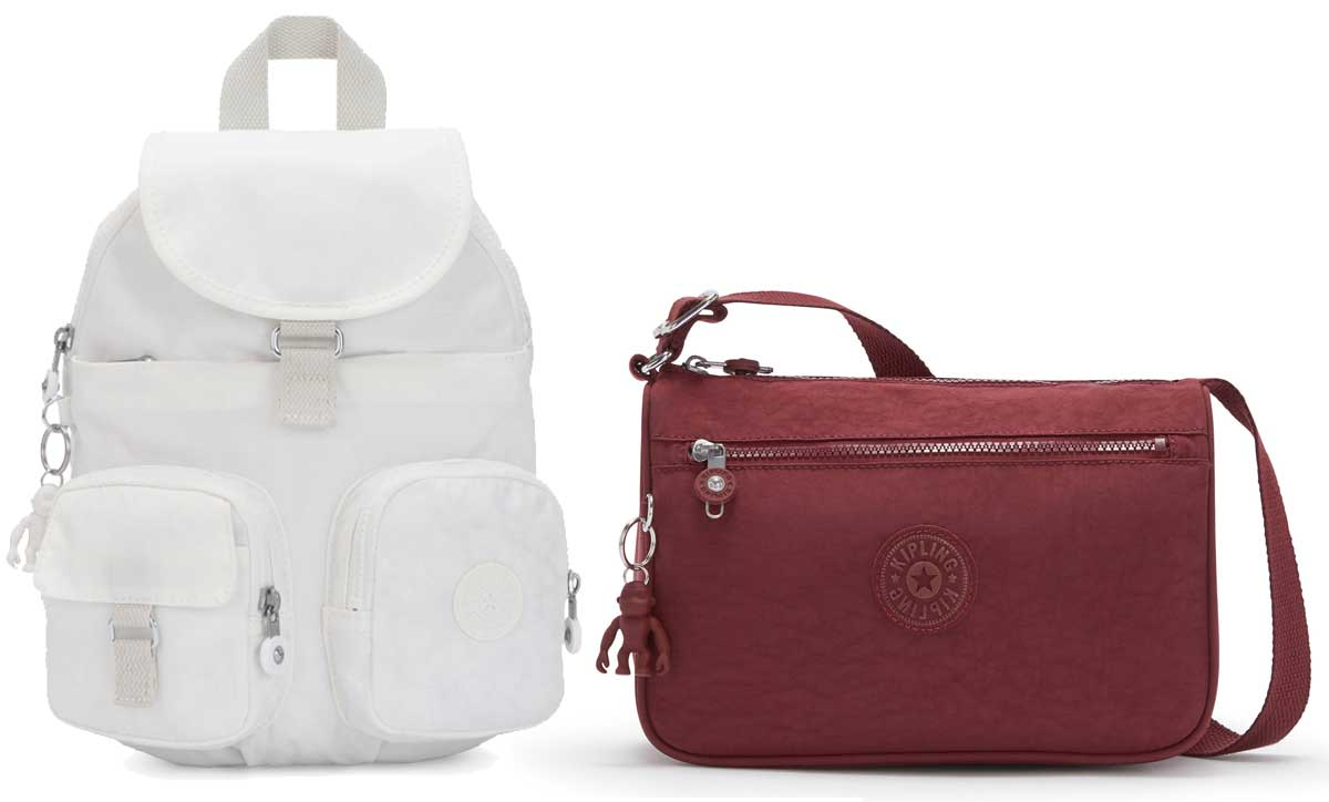 kipling backpack and crossbody purse