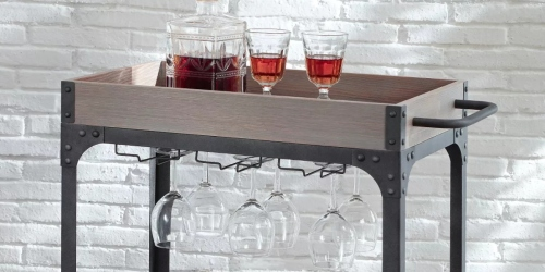 Threshold Bar Cart & Wine Rack Only $80 Shipped on Target.com (Regularly $160) + 50% Off More Furniture