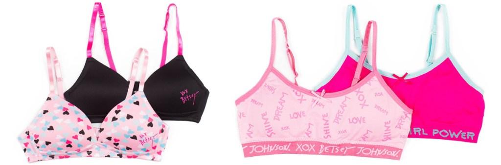 Betsey Johnson training and sports bras