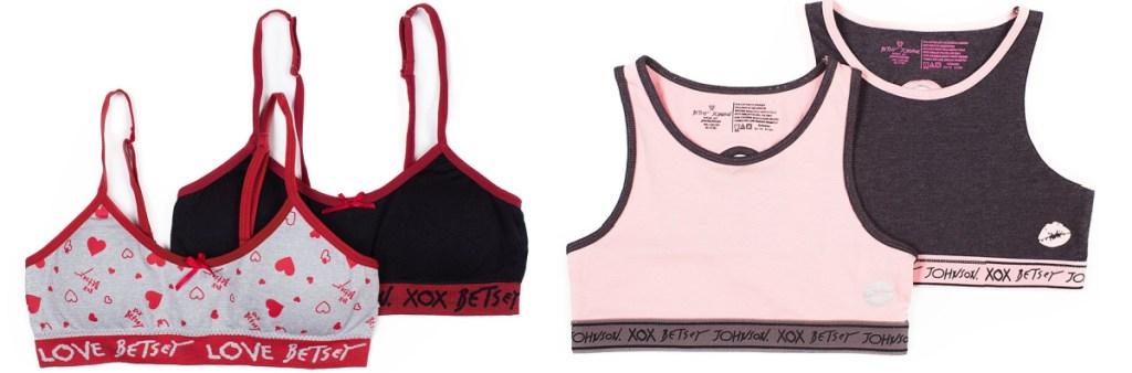 betsey johnson training and sports bra