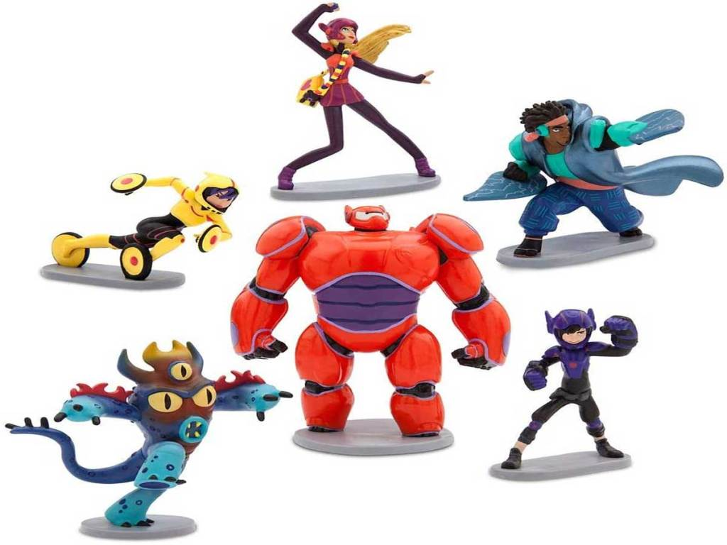 stock image of disney characters from movie big hero