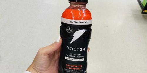 FREE BOLT24 Electrolyte Drink After Cash Back at Target