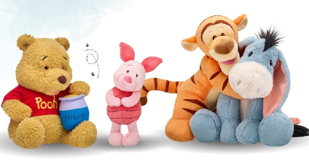 build a bear winnie the pooh and friends all together