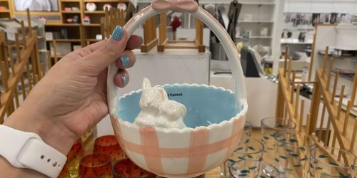 Easter Candy Dish Only $12 (Regularly $30) + Free Shipping for Select Kohl's Cardholders