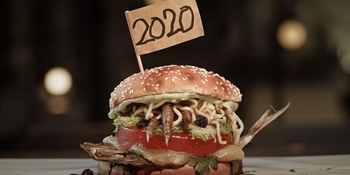Burger King Brazil Captured the Essence of 2020 in One Stomach-Turning Burger