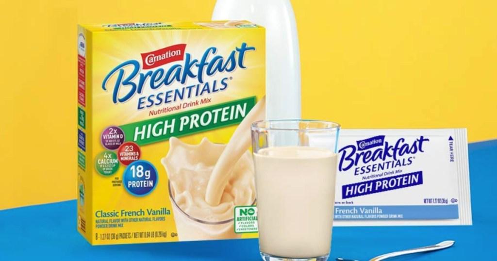 carnation breakfast packets