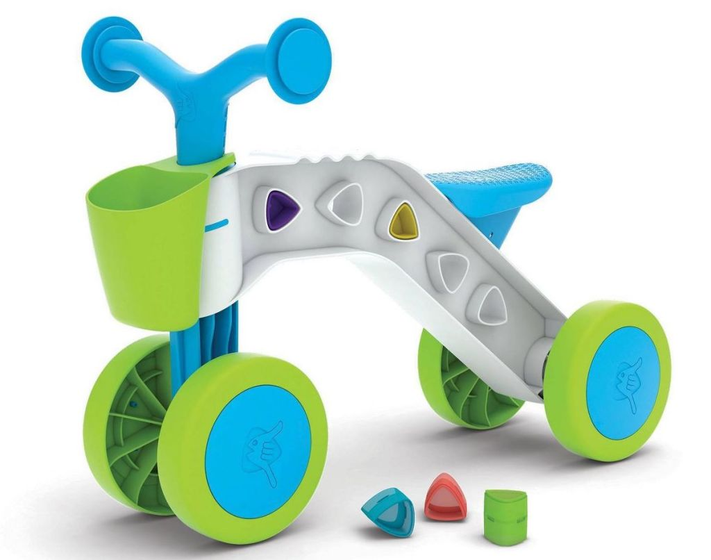 chillafish ride on toy with blocks