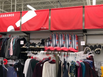 clearance at old navy in store