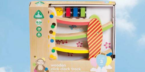 Early Learning Wooden Track Toy Just $7 on Amazon (Regularly $20)