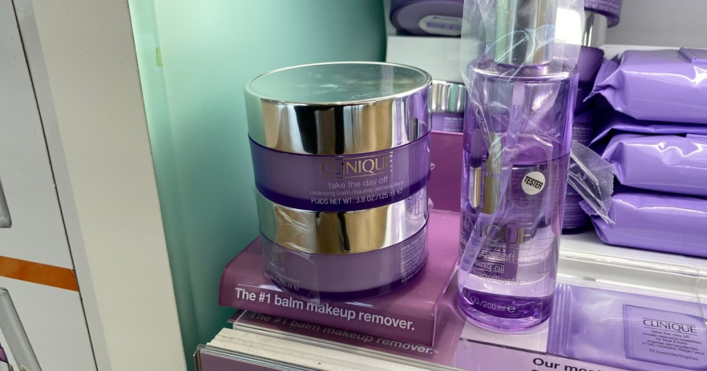 clinique makeup removing balm in store at ULTA