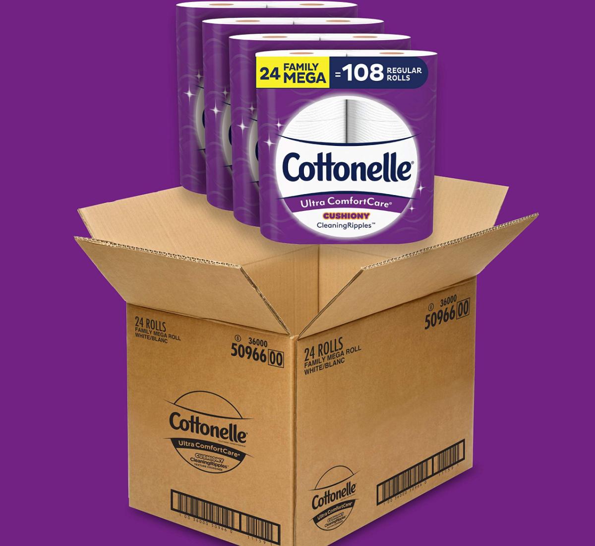 cottonelle in box