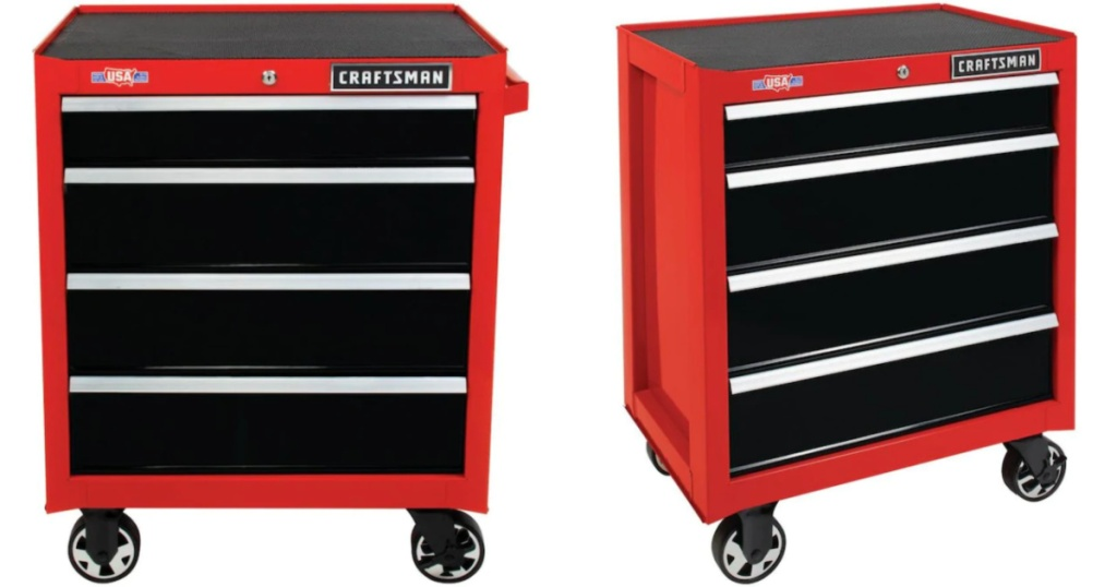 craftsman tool box with closed drawers