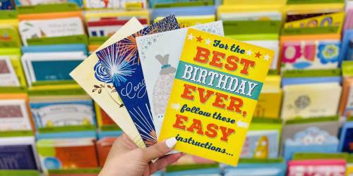4 Hallmark Cards Only 50¢ Each After CVS Rewards   Select Accounts