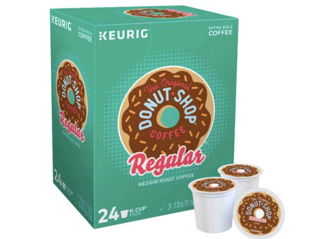 the donut shop box of k cups