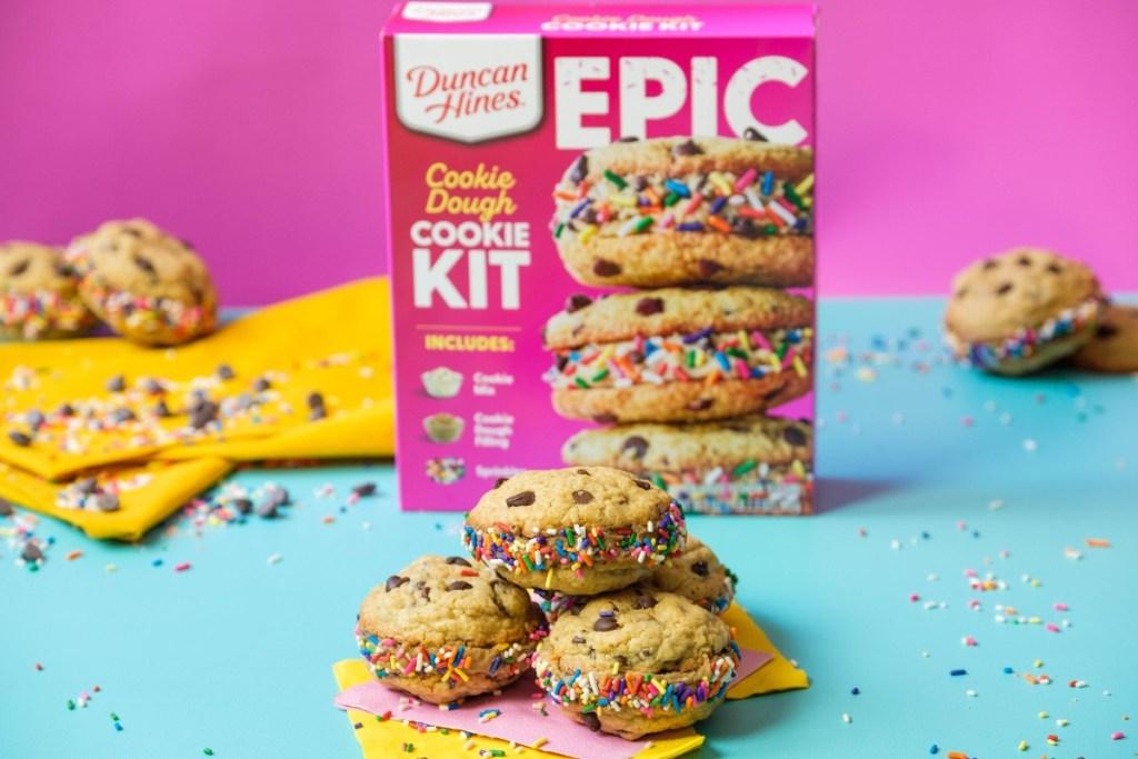 Duncan Hines Epic Cookie Dough Kit
