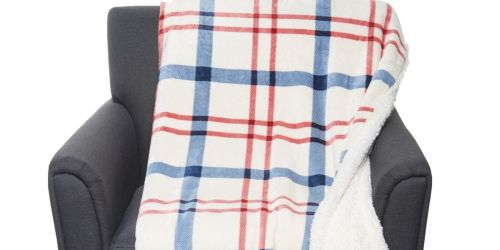 Eddie Bauer Large Sherpa Throw Blanket Only $20 Shipped (Regularly $50)