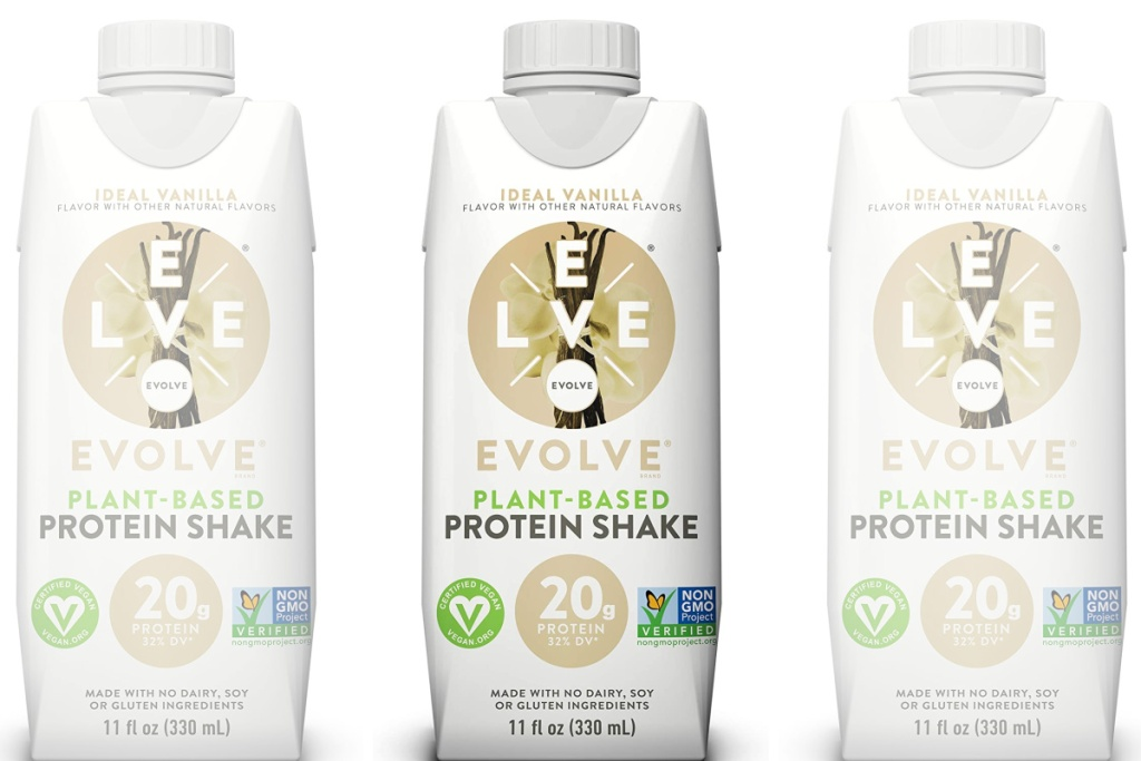 evolve protein shakes