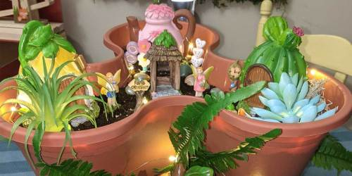 Create a Whimsical Fairy Garden with These 30+ Piece Sets on DollarTree.com | From $19 w/ Free Store Pickup