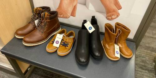 GO! 50% Off Shoes & Boots for the Family at Target | In-Store and Online