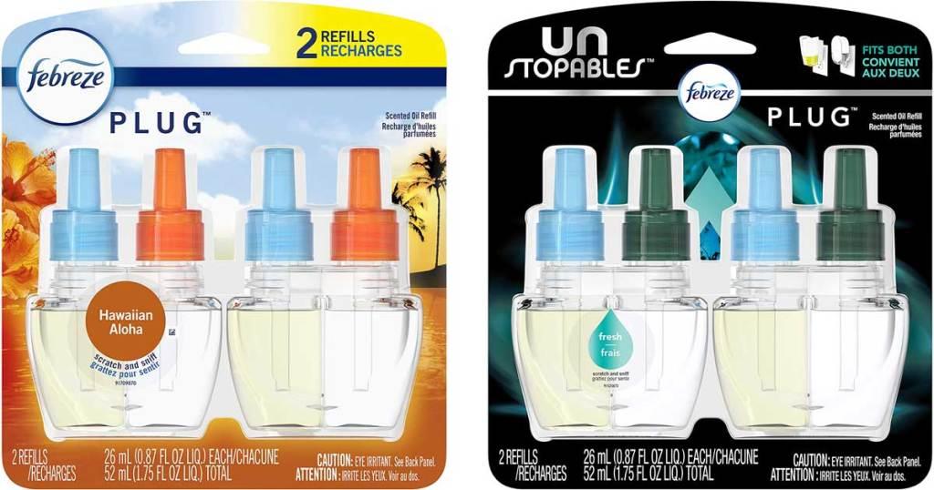 2 packs of air freshener oil refills