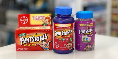 Children's Flintstones Vitamins from $4.33 Each on Walgreens.com (Regularly $9+)
