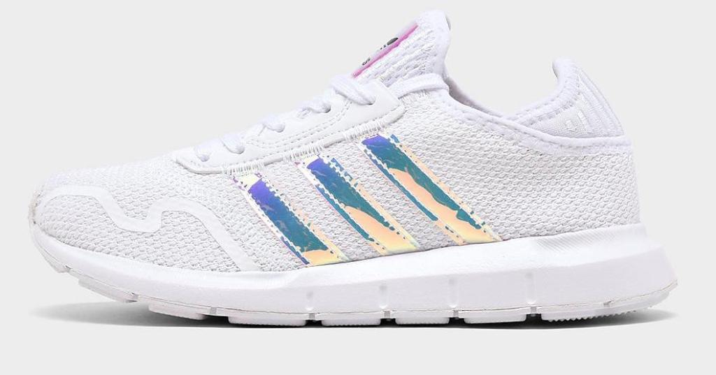 girls adidas shoe iridescent swift running shoe
