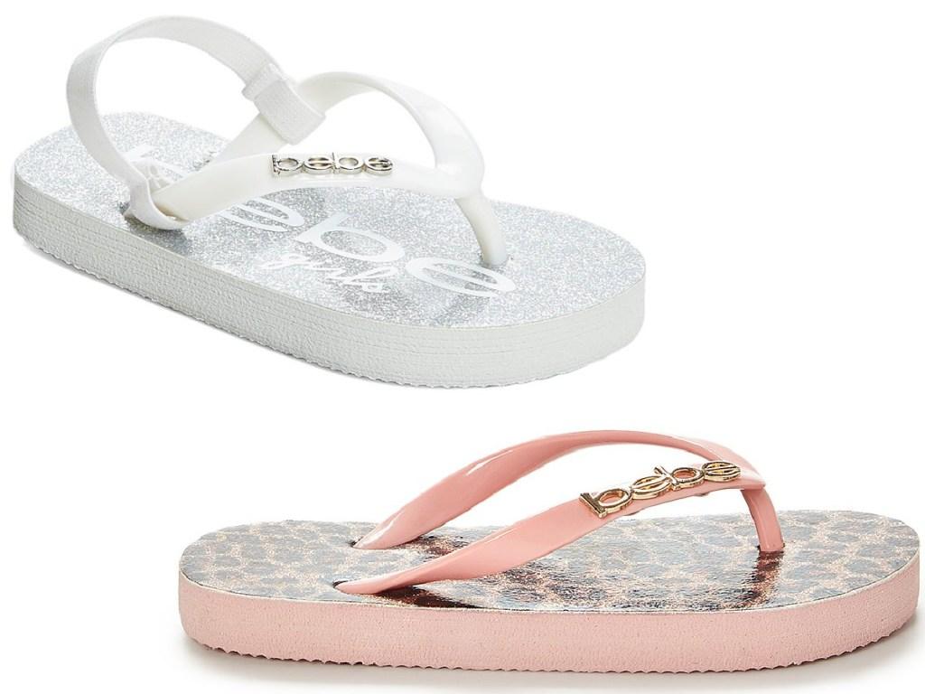 girls bebe sandals