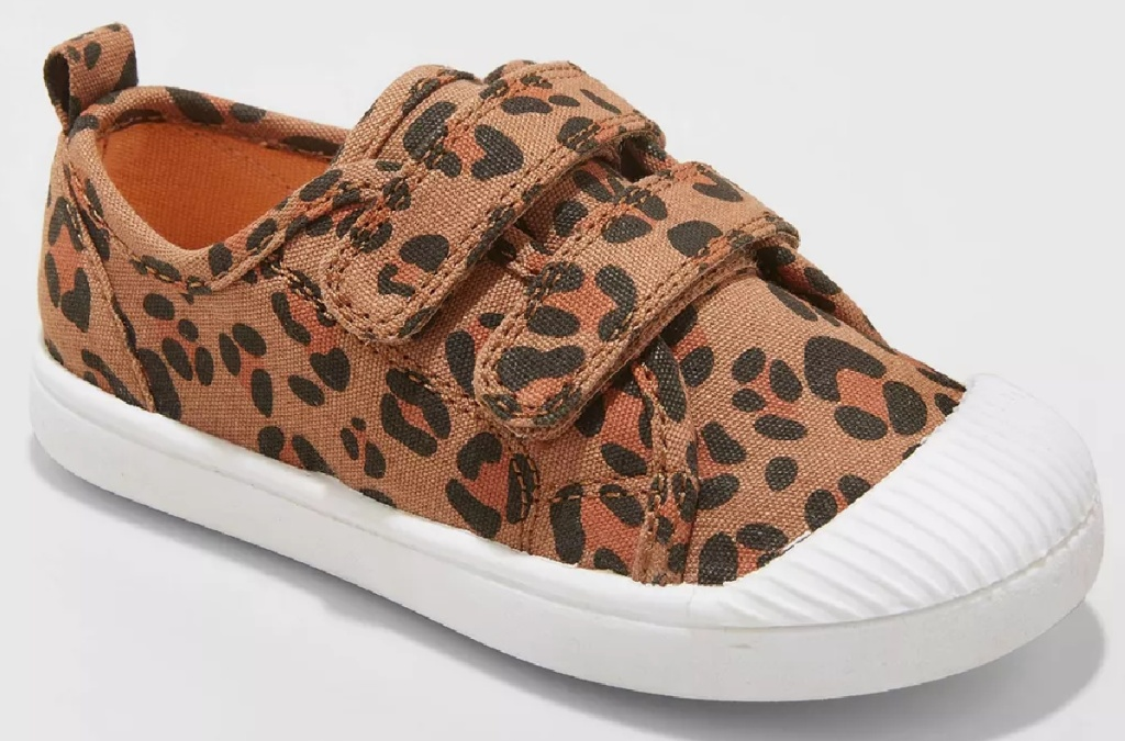 girls cheetah shoes from Target