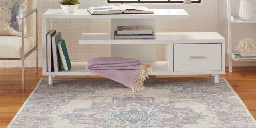 Persian Medallion Area Rug Only $33.59 Shipped on Amazon (Regularly $54)