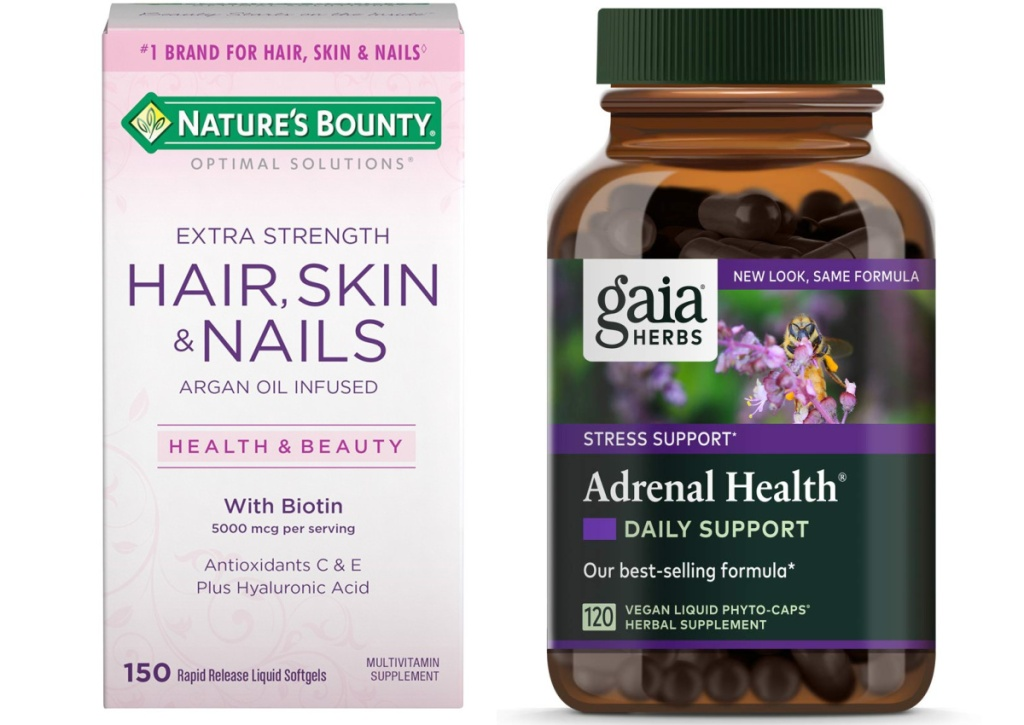 hair skin and nails supplement by natures bounty