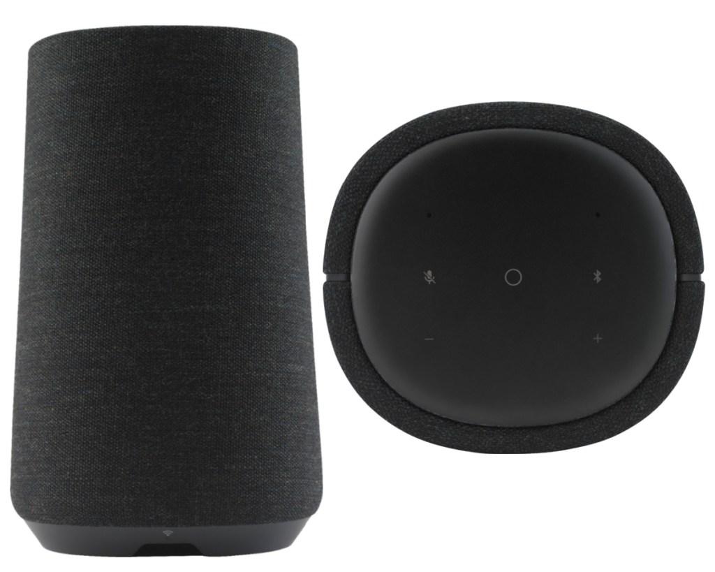 harmon kardon smart speaker side and top
