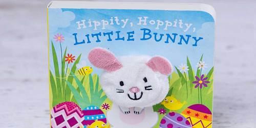 Hippity, Hoppity, Little Bunny Finger Puppet Book Only $3 on Amazon (Regularly $7)