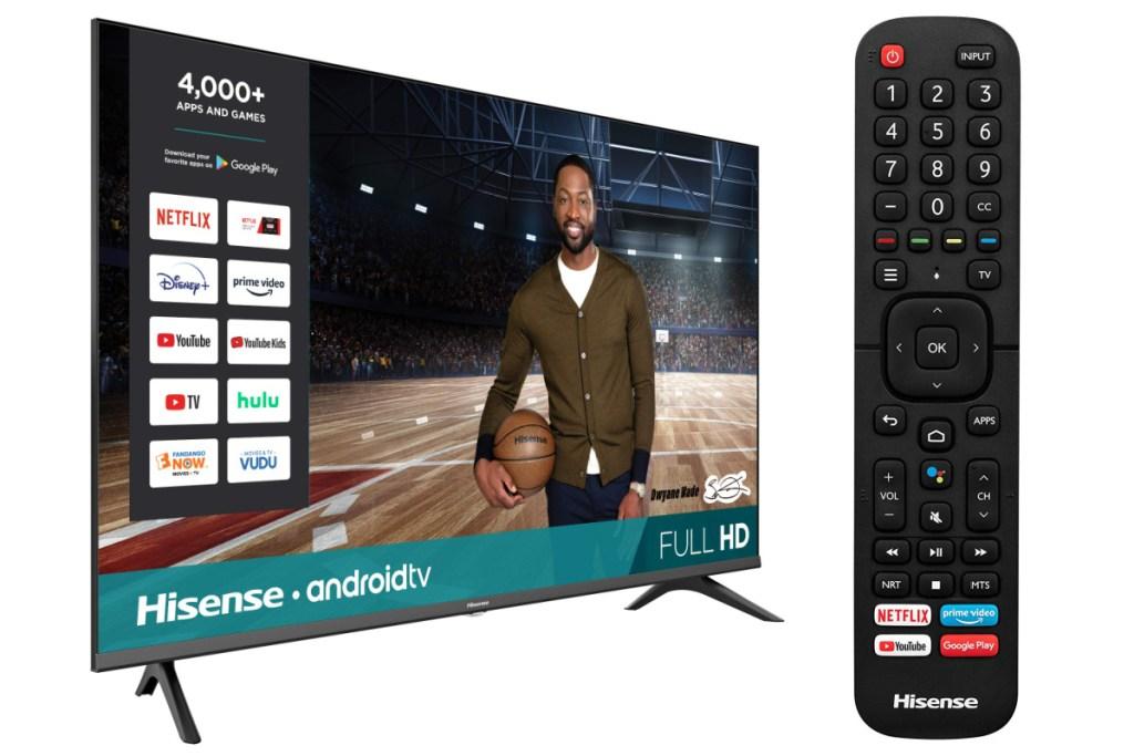 hisense TV w: remote