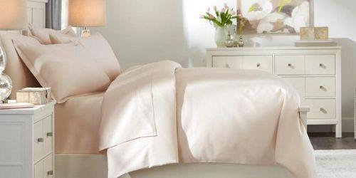 Wrinkle Resistant 4-Piece Sheet Sets from $16 on HomeDepot.com (Regularly $40)