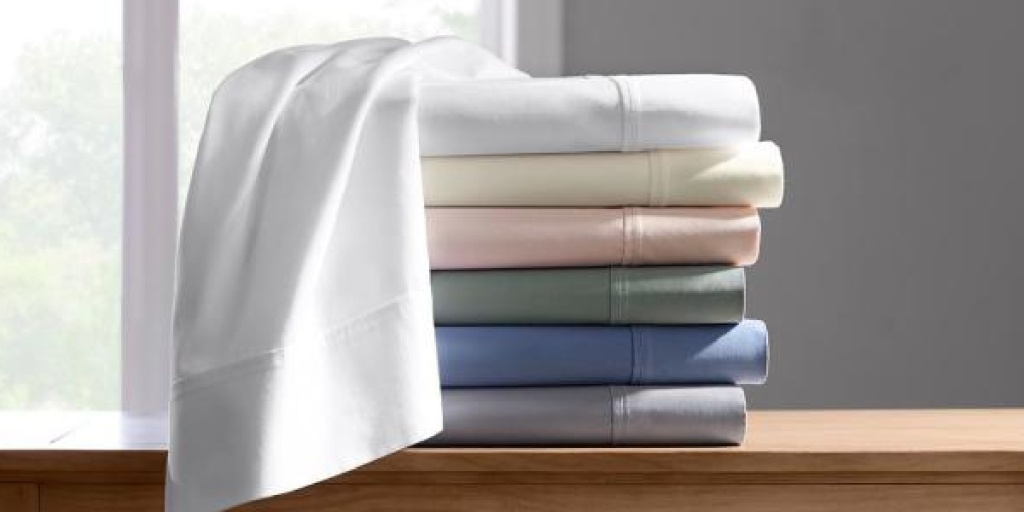 folded stacked colorful sheets