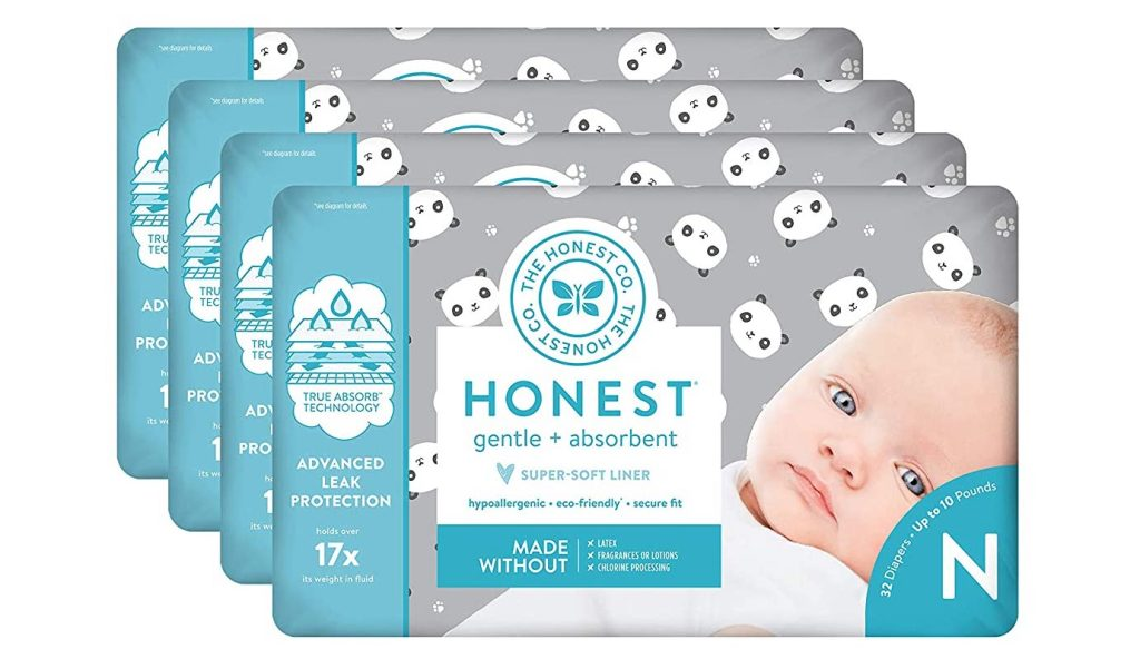 honest diapers panda