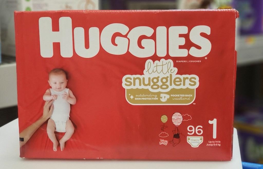 huggies little snugglers box