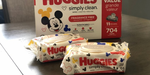 GO! Huggies Simply Clean Baby Wipes 704-Count Box Only $9.83 Shipped on Amazon