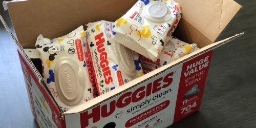 Huggies Simply Clean Baby Wipes 704-Count Box Just $11.24 Shipped on Amazon