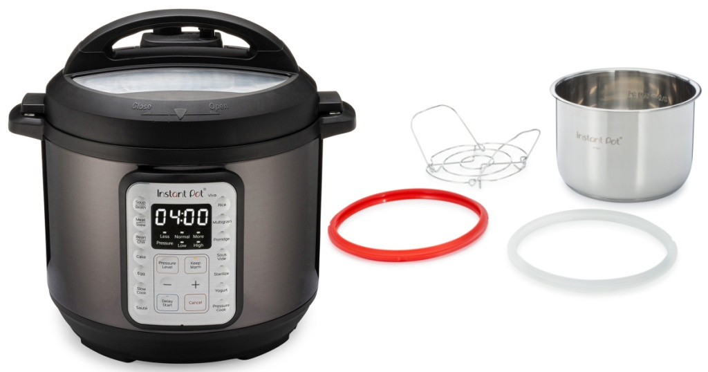 instant pot viva with attachments
