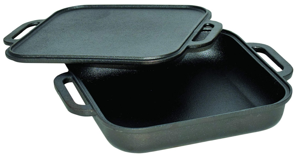 jim bean griddle with lid off