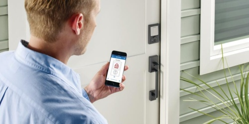 $118 Off Schlage Smart Lock w/ Alarm + Free Shipping on HomeDepot.com